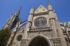 Catedral en Ypres, Bélgica de San Martín foto de archivo libre de regalías