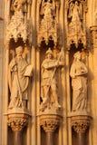 Catedral en Zagreb, Croacia Imagen de archivo libre de regalías
