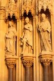 Catedral en Zagreb, Croacia Fotografía de archivo libre de regalías