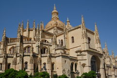 Catedral espanhola imagens de stock