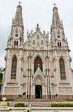 Catedral Espirito Santo Brasil de Vitoria foto de stock