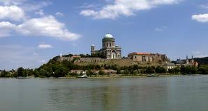 Catedral Esztergom en Hungría Imagen de archivo libre de regalías