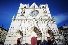 Catedral famosa de Jean del santo imagen de archivo