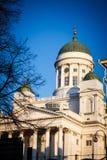 Catedral famosa em Helsínquia Fotos de Stock