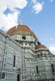 Catedral Florença Italy do detalhe Fotos de Stock Royalty Free