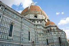 Catedral Florencia Italia de la cúpula del detalle Fotografía de archivo libre de regalías