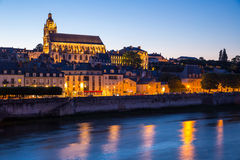 Catedral France de Blois Imagem de Stock Royalty Free