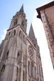 Catedral francesa fotografía de archivo