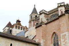 Catedral francesa antigua Foto de archivo libre de regalías