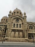 Catedral Francia Marsella fotos de archivo libres de regalías