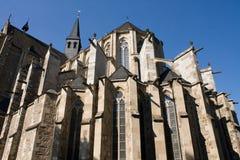 Catedral gótica de Altenberg de la iglesia Fotos de archivo libres de regalías