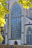 Catedral gótica de Altenberg de la iglesia Imagen de archivo libre de regalías