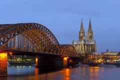 Catedral gótica de Colonia Imagen de archivo libre de regalías