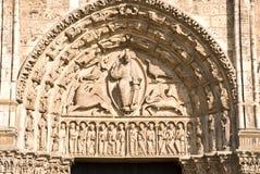 Catedral gótica en Chartres Foto de archivo libre de regalías