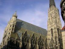 Catedral gótica en Viena Foto de archivo libre de regalías
