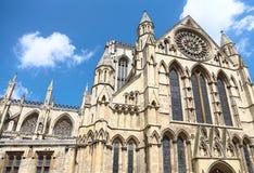 Catedral gótica en York, Reino Unido Imagen de archivo libre de regalías