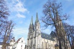 Catedral gótica hermosa, Europa fotos de archivo libres de regalías