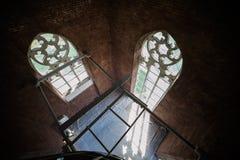 Catedral gótico A arquitetura gótico é um estilo de arquitetura que floresça durante a elevação e o período medieval atrasado Fotografia de Stock Royalty Free