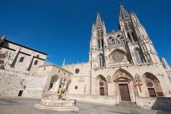 Catedral gótico do marco famoso sobre Imagens de Stock Royalty Free