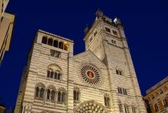 A catedral, Genoa, Italy imagem de stock
