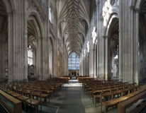 Catedral granangular Fotos de archivo