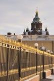 Catedral Helsinki de Uspensk Fotografía de archivo