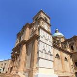 Catedral hermosa de la plaza Armerina Foto de archivo libre de regalías