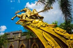 Catedral hermosa que está situada en la ciudad de Ho Chi Minh Fotografía de archivo libre de regalías