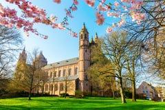 Catedral histórica nos sem-fins, Alemanha dos sem-fins foto de stock