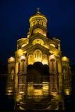 Catedral i Tbilisi Arkivbilder