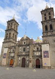 Catedral II de Puebla Imagem de Stock