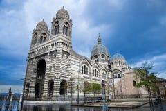 Catedral importante del La, Marsella, Francia. fotografía de archivo libre de regalías