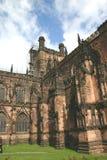 Catedral inglesa vieja foto de archivo libre de regalías