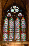 Catedral interior de Notre-Dame de la visión, catedral católica histórica considerada ser uno de los ejemplos más finos de gótico Fotos de archivo