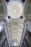 Catedral interior magnífica del techo Foto de archivo
