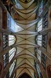 Catedral interna imagens de stock royalty free