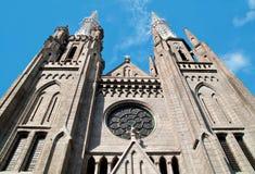 Catedral Jakarta Imagenes de archivo