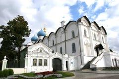 Catedral Kazan Rusia del anuncio. Fotos de archivo