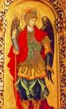 Catedral Kiev Ucrania de Michael Icon Basilica Saint Michael del santo Fotos de archivo