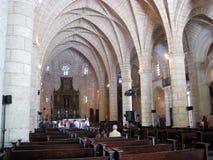 catedral la 3月menor圣诞老人 图库摄影
