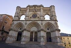 Catedral la Mancha, España de Cuenca, Castilla. Imagen de archivo libre de regalías