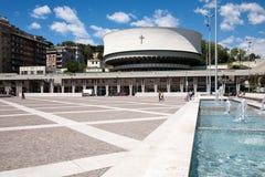 Catedral, La Spezia, Itália foto de stock
