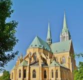 Catedral, Lodz, Polonia Fotografía de archivo libre de regalías