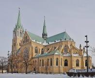 Catedral, Lodz, Polonia Fotografía de archivo