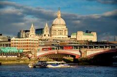 Catedral Londres de los pauls del santo Fotografía de archivo