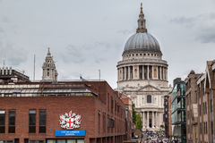 Catedral Londres de Saint Paul Imagem de Stock Royalty Free