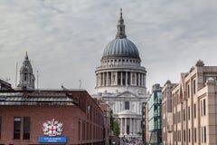 Catedral Londres de Saint Paul Imagen de archivo libre de regalías