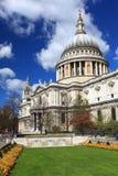 Catedral Londres de San Pablo Fotografía de archivo