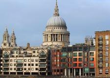 Catedral Londres de San Pablo fotos de archivo