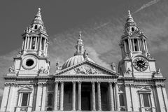 Catedral Londres do St Paul foto de stock